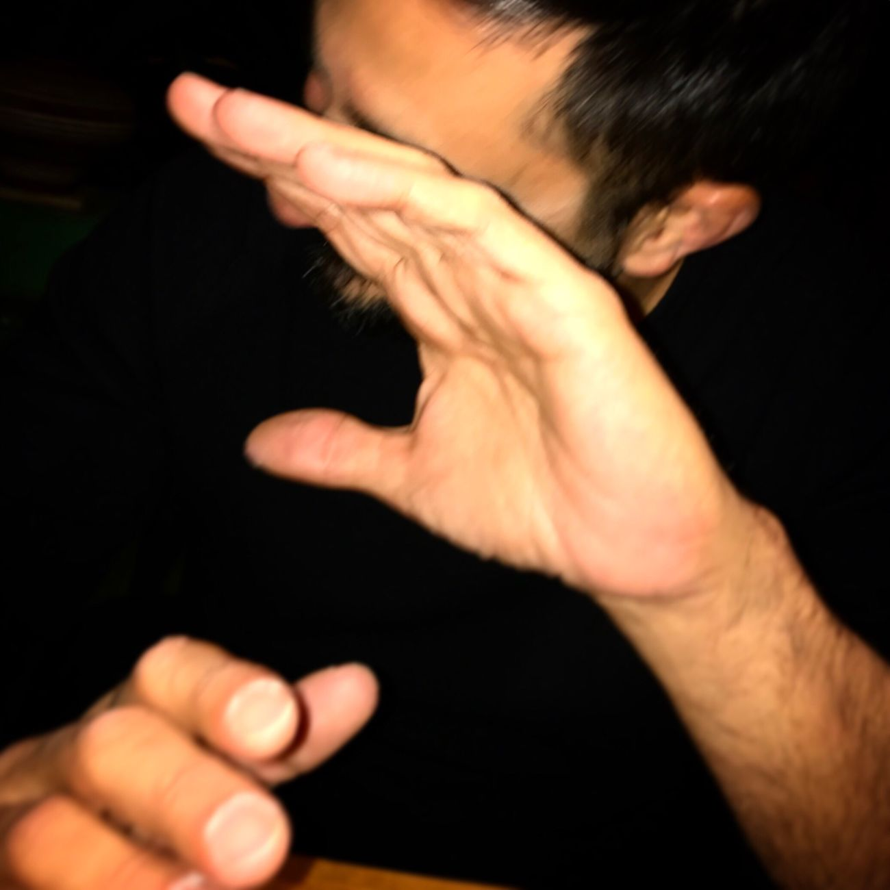No more photo, please!!! Human Hand Men Black Background EyeEm Best Shots IPhoneography
