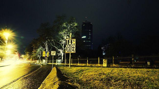 Night Lights Night Jena Streetphotography