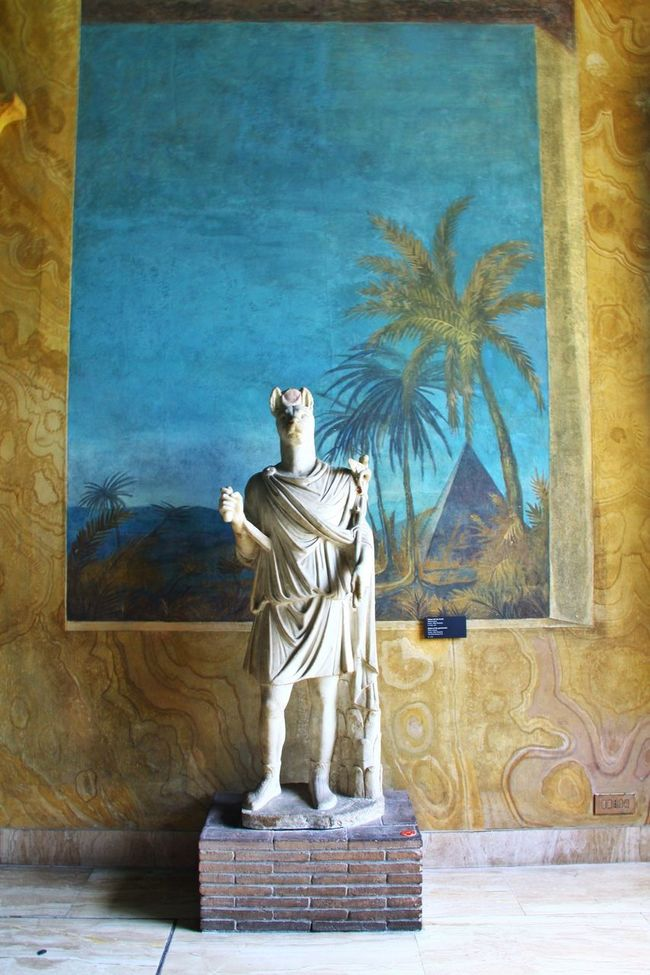Anubis Museum Sculpture Vatican