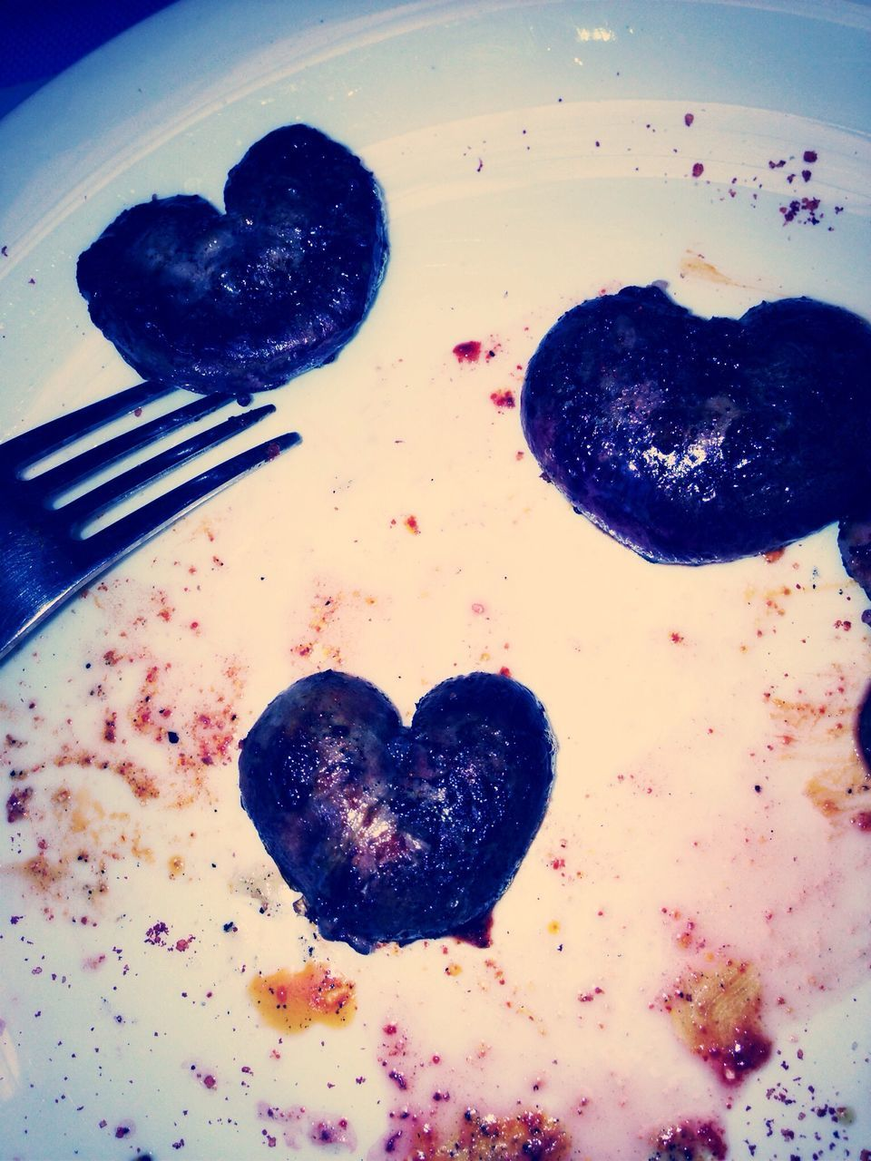 heart shape, food and drink, food, love, indoors, sweet food, no people, homemade, freshness, close-up, ready-to-eat, day