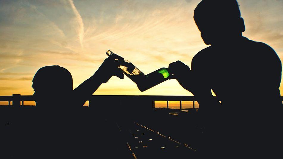 Beautiful stock photos of st patricks day, Beer - Alcohol, Beer Bottle, Bottle, Celebratory Toast