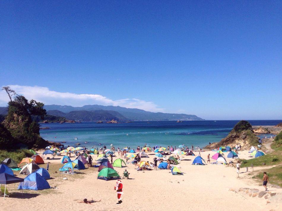 Sea Beach Sun Christmas Santa Claus 🎶 CaetanoVeloso Alexia Bomtempo - In The Hot Sun Of A Christmas Day
