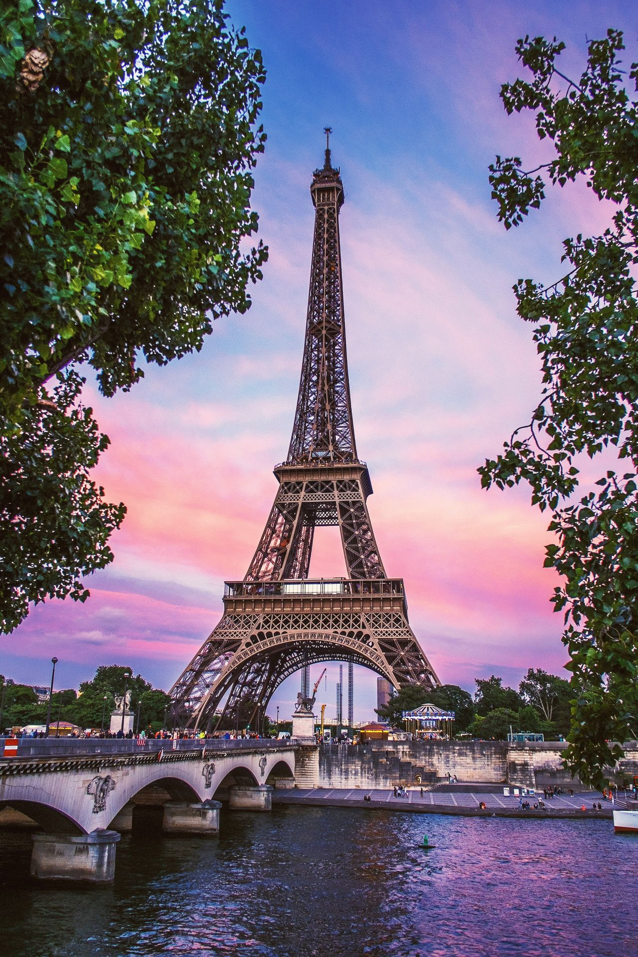 Beautiful stock photos of eiffel tower, Architectural Feature, Architecture, Bridge - Man Made Structure, Built Structure