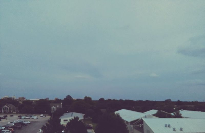 Scottish Festival Sky Blue View Clouds Its Gonna Be A Rainy Day