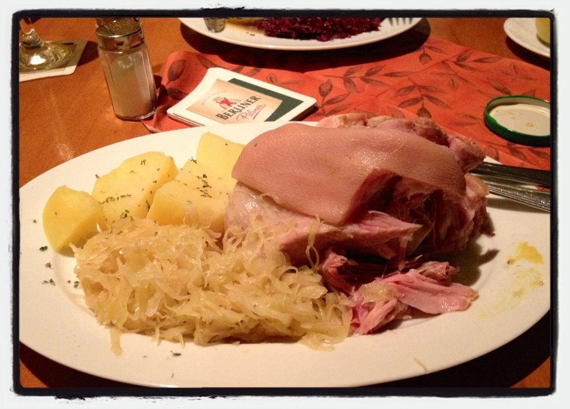 I Ate This Deutsche Küche Eating Out In Berlin Eisbein