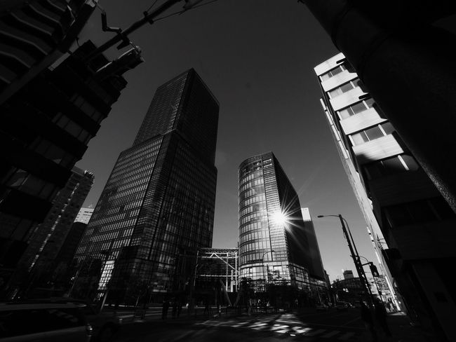 It's Fine Today Buildings Blackandwhite Black And White Bnw