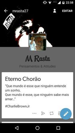 Me seguem no Tmblr. MRasta