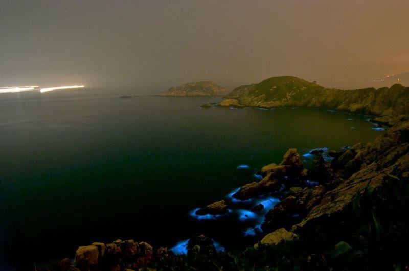 The Secret Spaces Sea Noctiluca Scintillans Sea Sparkles Matsu Taiwan Nikon D7000 Night