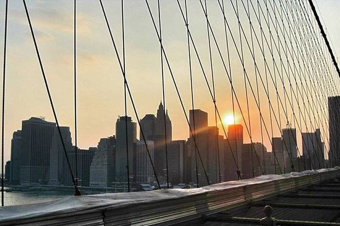 There was never a night or a problem that could defeat sunrise or hope. Bernard Williams Listening to:Ever After - Charlotte Lawrence NYC Sunrise Brooklynbridge
