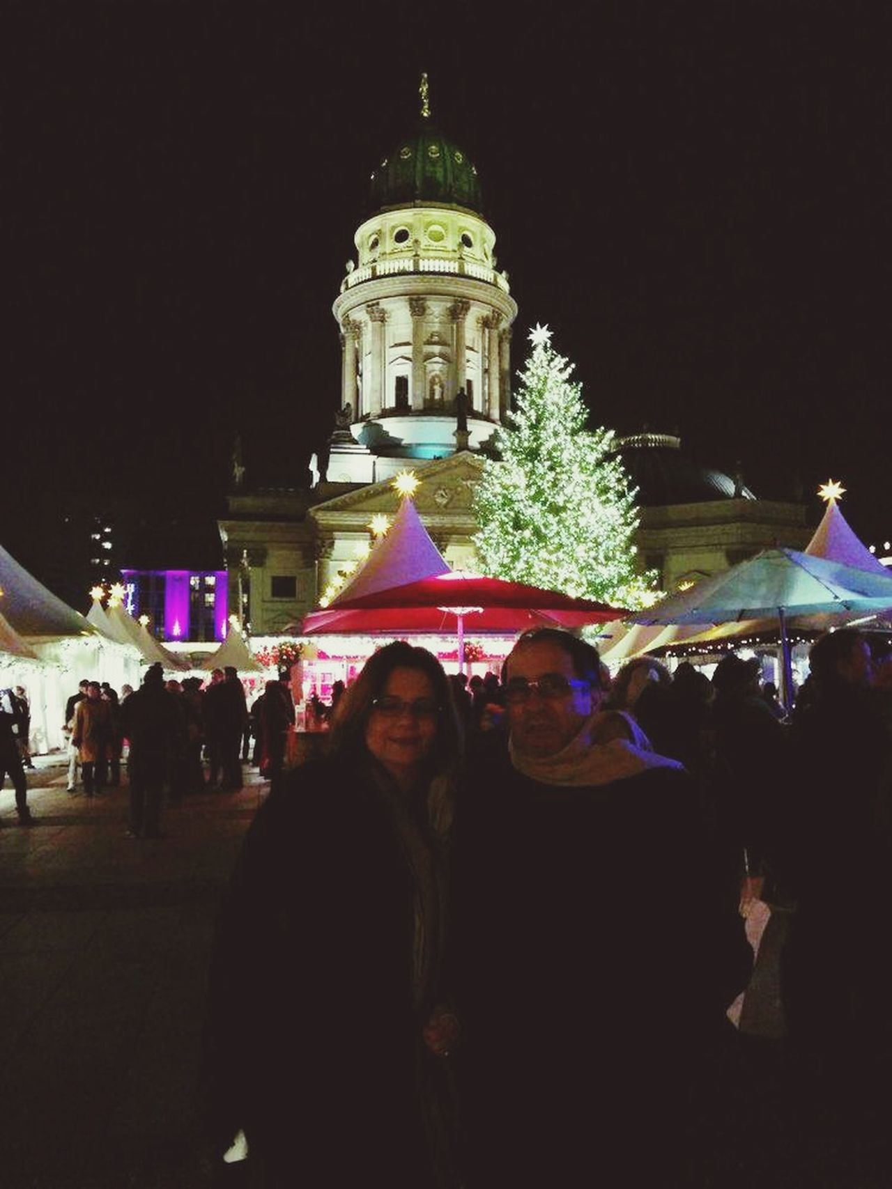 Berlin By Night At Gendarmenmarkt with Amal Rizk