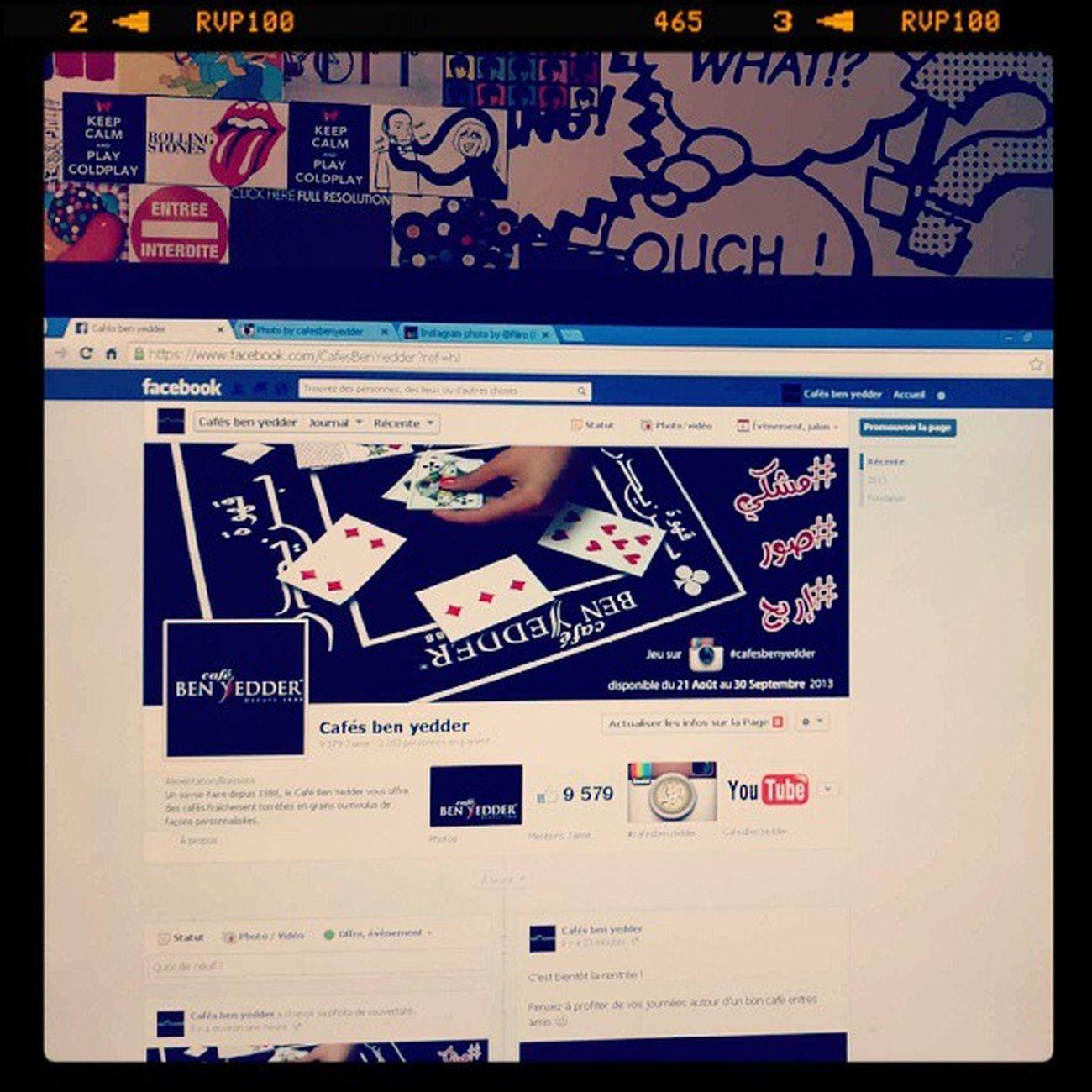 La nouvelle couv est en ligne ^_^ Cafesbenyedder Jeu Instaconcours Instatn instacafe cafe ff fb