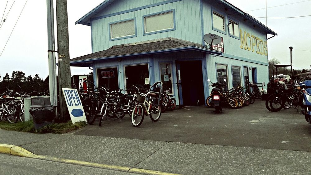 Longbeachwa Shop Mopeds Bythebeach Moped Storefront
