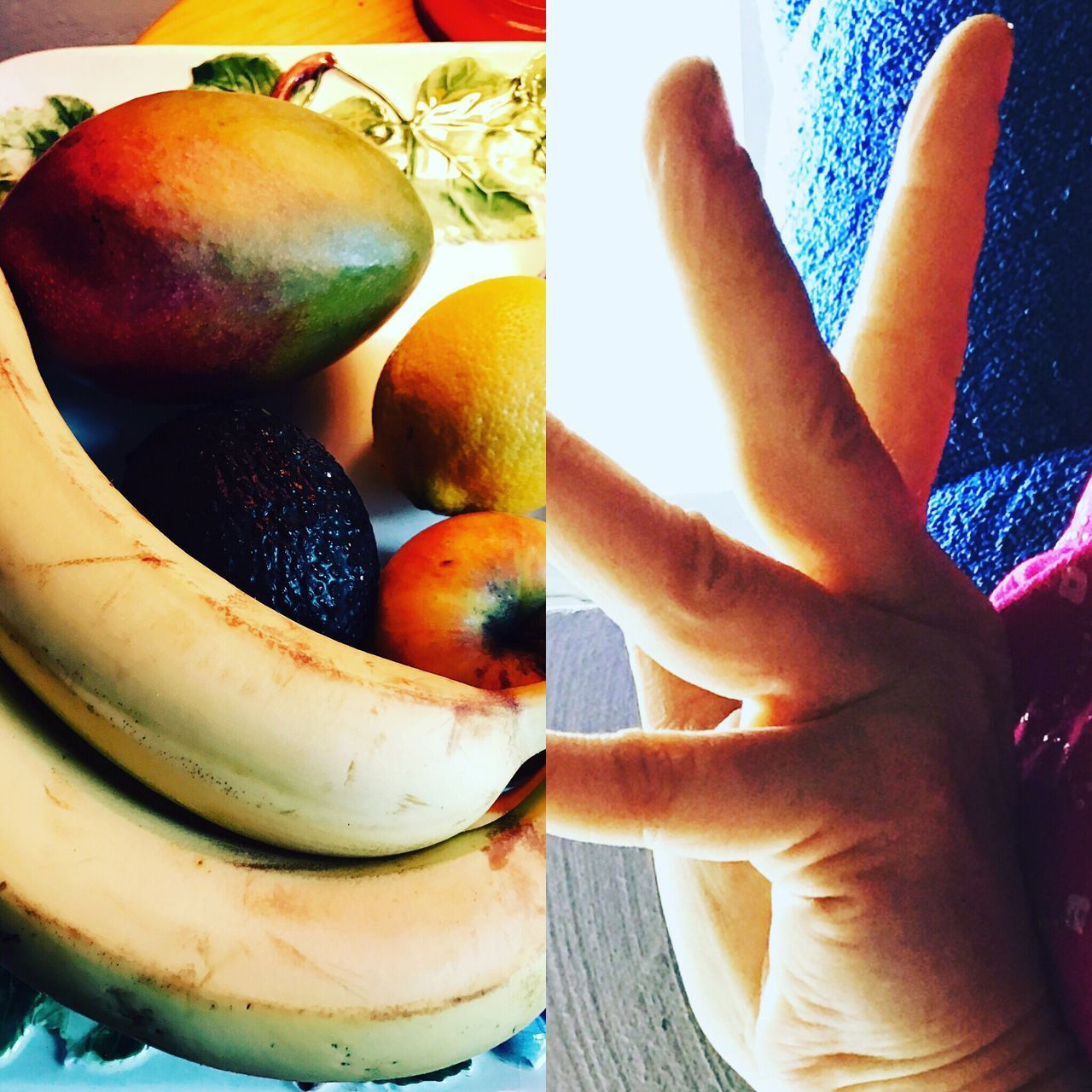 fruit, food and drink, human hand, food, real people, banana, healthy eating, one person, freshness, apple - fruit, indoors, human body part, lifestyles, day, close-up, ready-to-eat, people