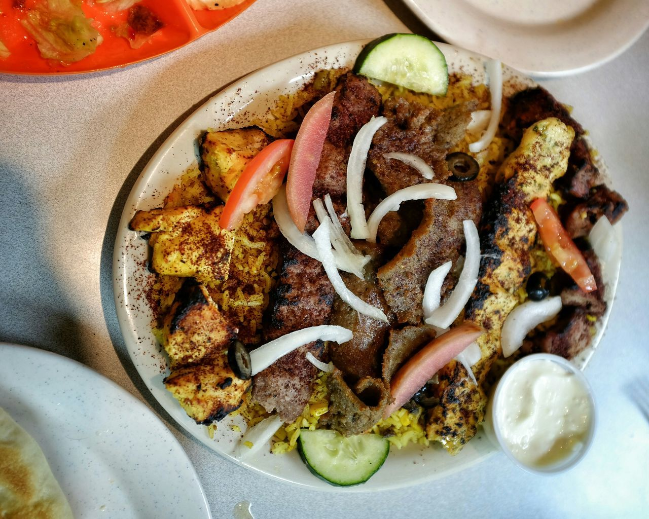 Briyani Chicken Tika Shawarma Kabob Falafel Babaganoush Iraqi  Hummus A Day In The Life Whats For Dinner?