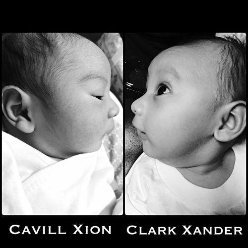 My Sonshine 👶🏼👶🏼 Myson Cx ClarkXander CavillXion Blackandwhite