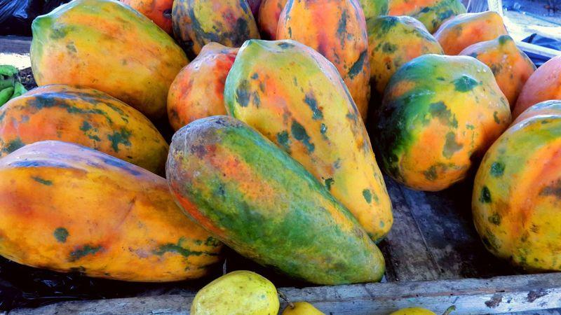 Papaya Lechoza Fruits Frutas Dulce Comer Batida Fotos Populares