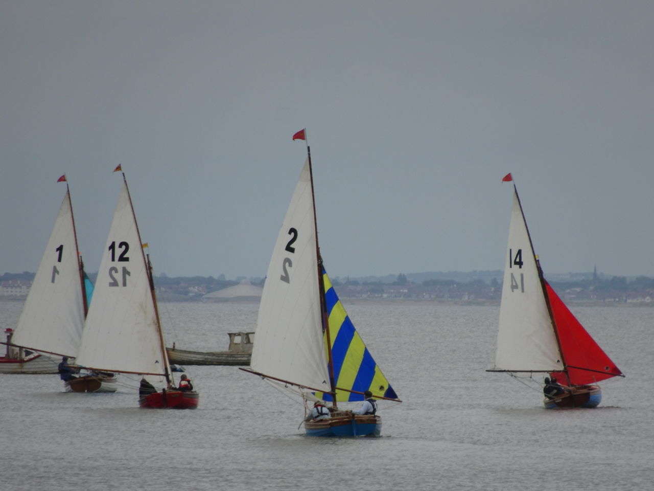 Sailboat Competitive Sport Water Outdoors Regatta Tranquility sea