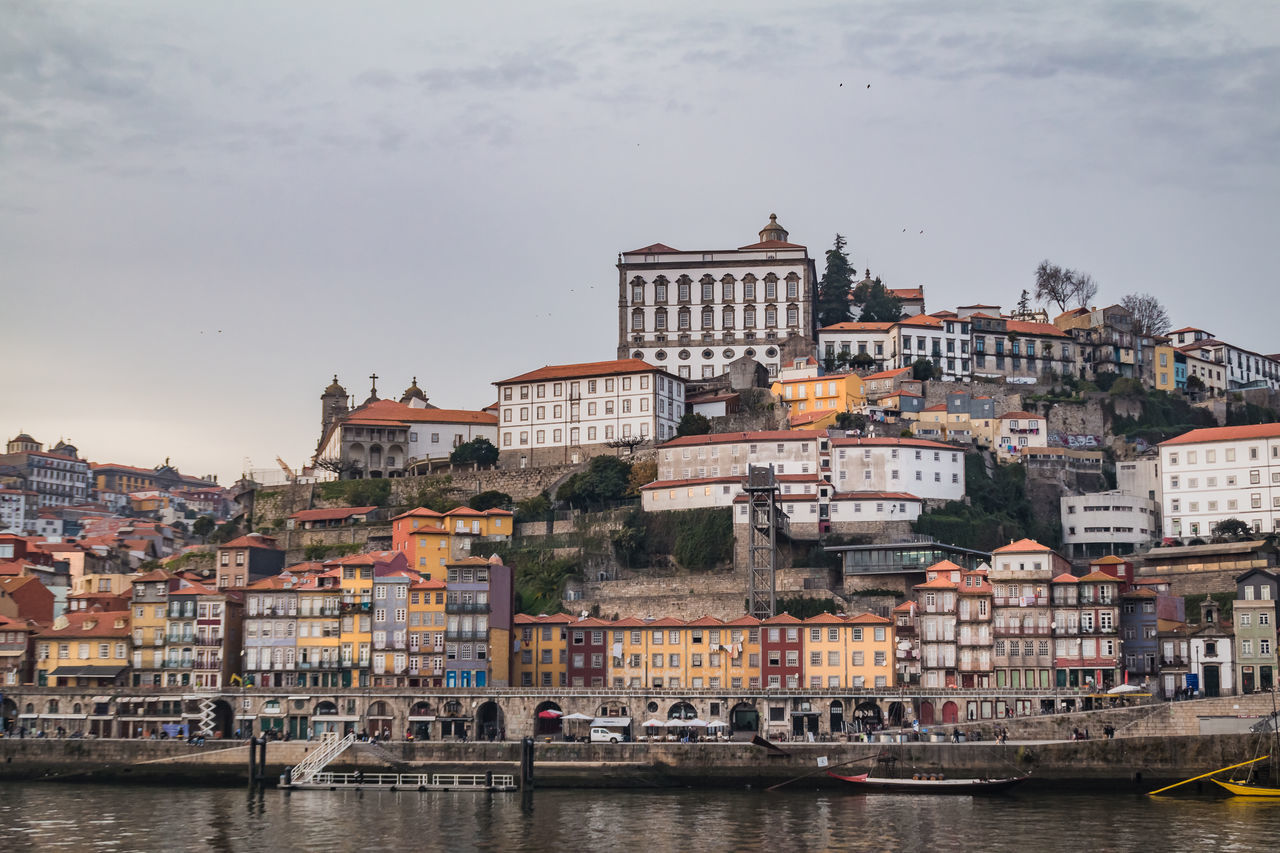 Architecture Building Exterior City Cityscape Day History Holidays Medieval Outdoors Porto Portugal River Sky Travel Travel Travel Destinations Trip Urban Skyline Water