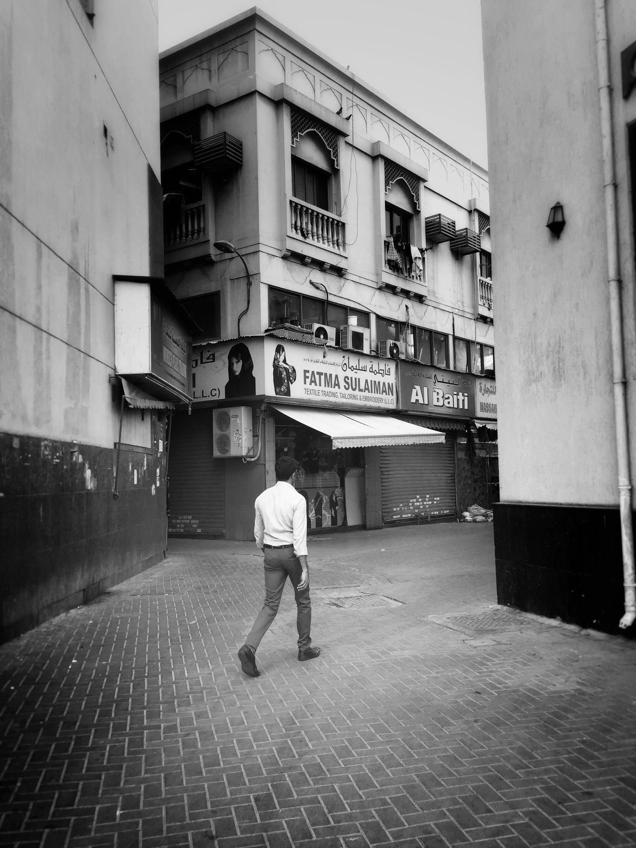 Monochrome Photography City Life