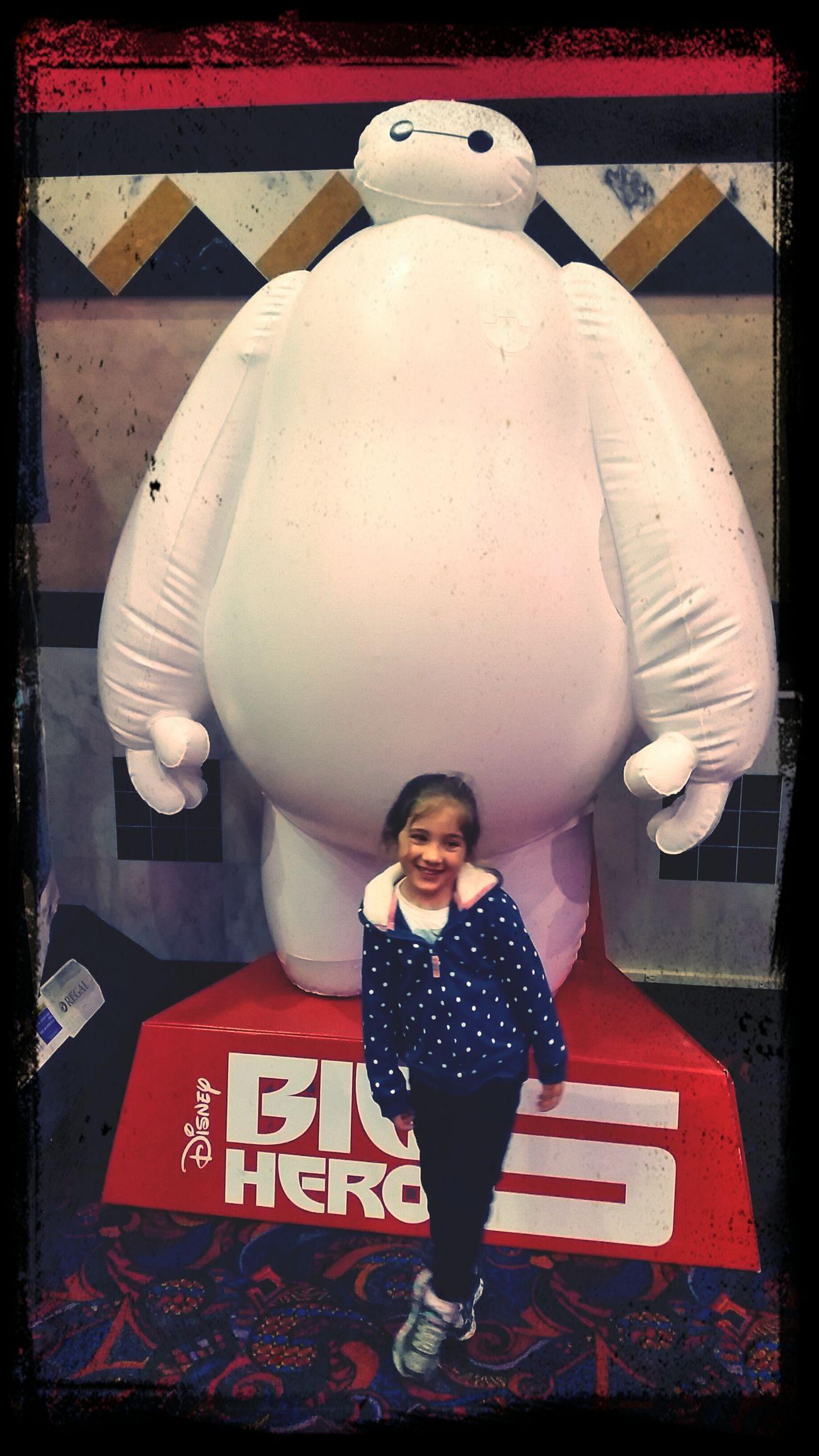 Saw Big Hero 6 list night with my little princess.