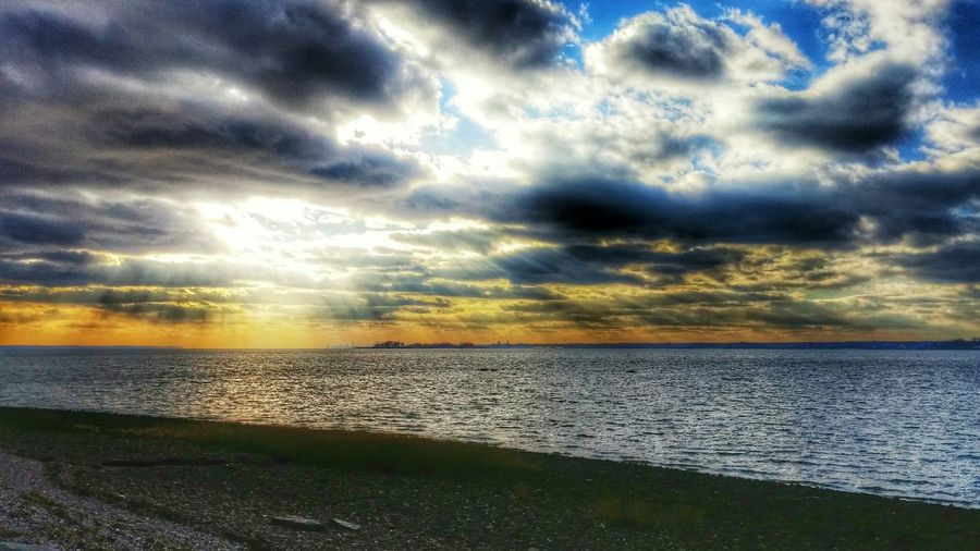 Beach photography. Walking Around Winter Android Photography HDR