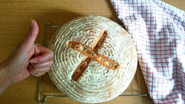 Taking Photos Well Done  That's Me Enjoying Life Yummy♡ Awesome_shot Woo Hoo! Homemade Sourdough Bread Joinme? Love ♥