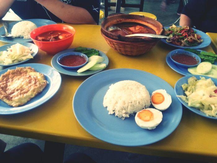 Nice Assam Pedas.At Warung Asam Pedas Commando. Eating Lunch MalaysianfoodMalaysia