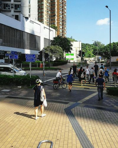 Streetphotography Lifestyles Building Exterior Road Marking Hang Hau