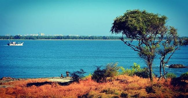 Stmarysisland Malpe Udupi Beach Boat Karnataka India
