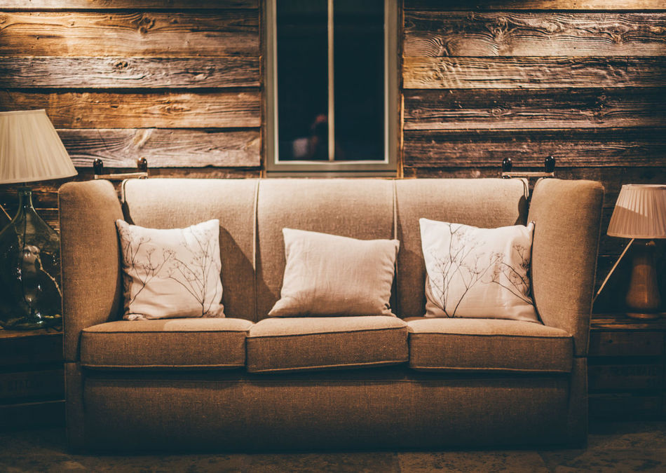 Beautiful stock photos of living room, Absence, Comfortable, Cushion, Home Interior
