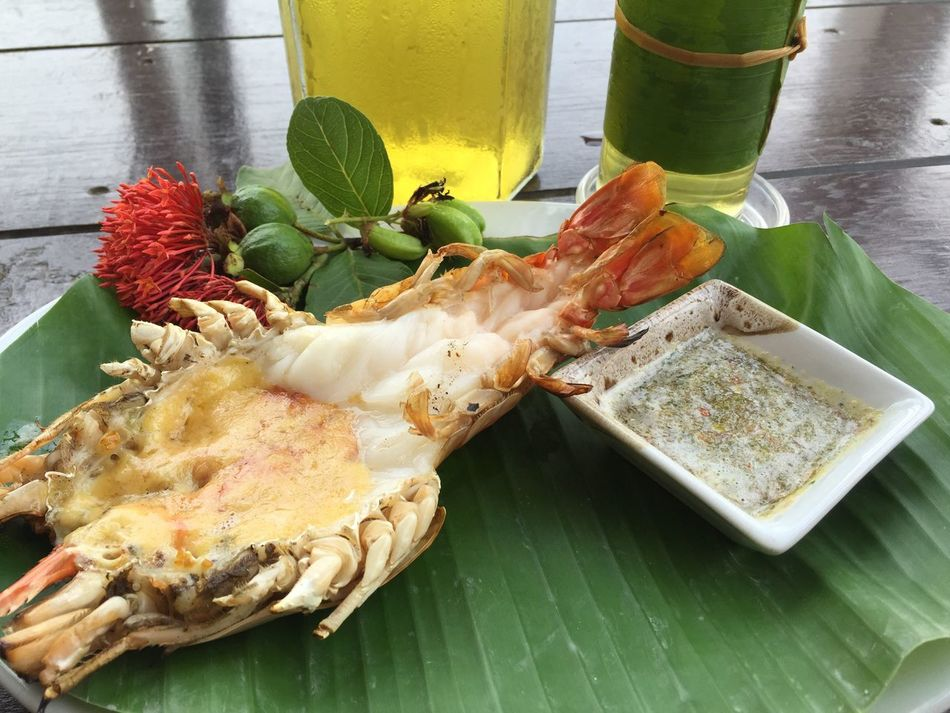 Beautiful stock photos of lobster, Banana Leaf, Bowl, Close-Up, Drink