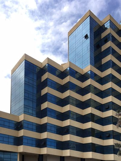 Hotel Panorámico Architecture Building Exterior Built Structure Modern Skyscraper Cloud - Sky The Graphic City Façade Sky Low Angle View Outdoors City Day No People