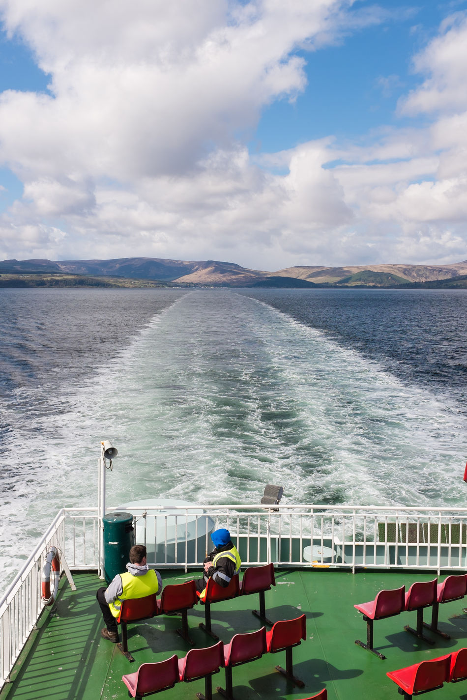 Arran  Boat Boat Deck Day Ferry Fuji Fuji X100s Island Islandlife Long Goodbye Nature Nautical Vessel Outdoors People Scotland Sea Sea And Sky Sea And Sun Sea View Seascape Tranquil Scene Tranquility Travel Destinations Traveling Water