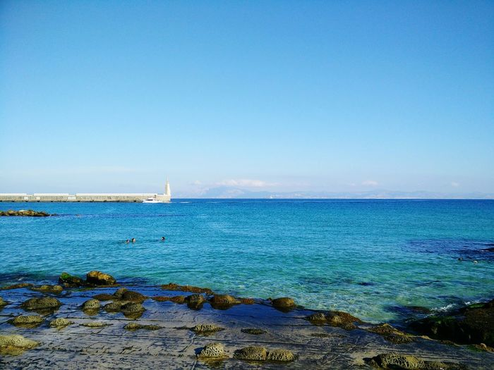 SPAIN Ocean Seascape Traveling Holiday Summer Coast Lighthouse