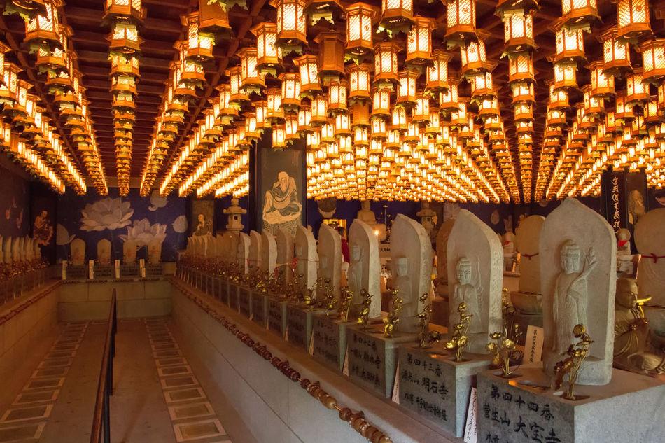 Buddha Buddha Statue Day Illuminated Illumination Indoors  Lantern Lanterns Lighting Equipment No People Place Of Worship Religion Religious  Religious Architecture Spirituality Statue EyeEmNewHere