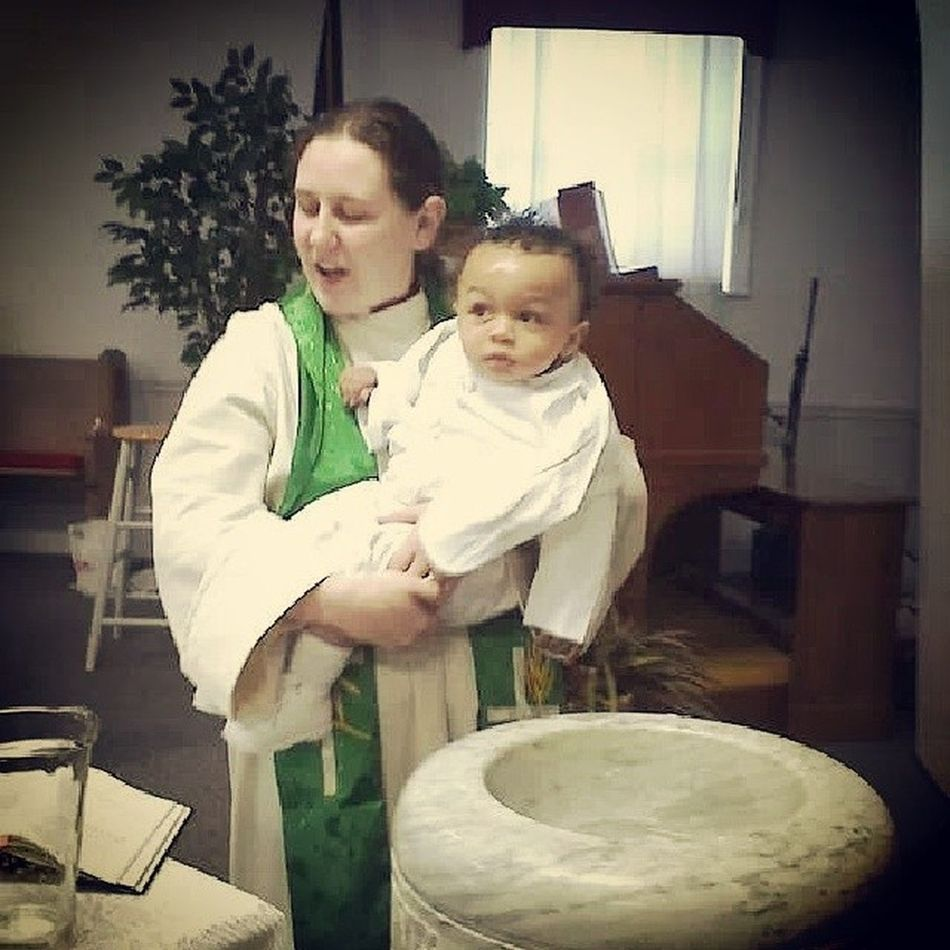 Day 10: holy. This was the first baptism I ever performed. It is a true gift to participate in something so sacred... And to be able to watch him grow has been an amazing blessing! Rethinkchristmas Rethinkchurch Adventphotoaday Advent