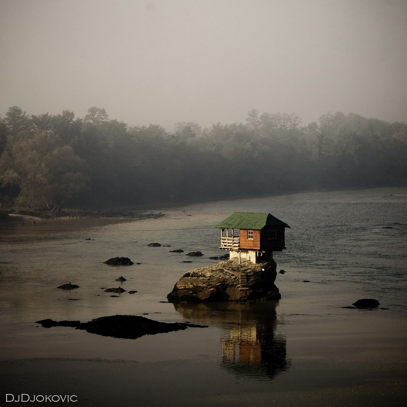 Kućica na Drini Nature Landscape River Canon