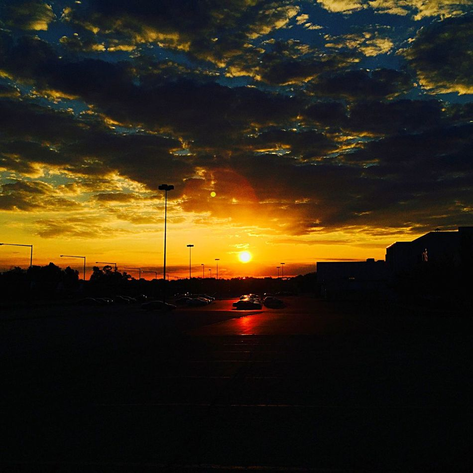 Sunrise Sun Sky Skyporn Clouds And Sky IPhone Photography IPhoneography Fairlawn