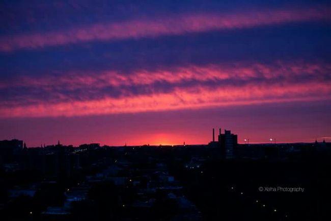 Evening Sky Montreal :)
