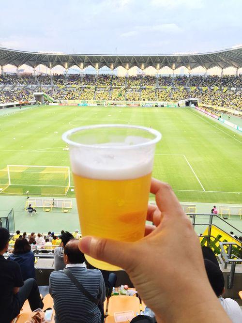 Soccer JefunitedChiba 札幌戦⭐️サッポロビール🍺