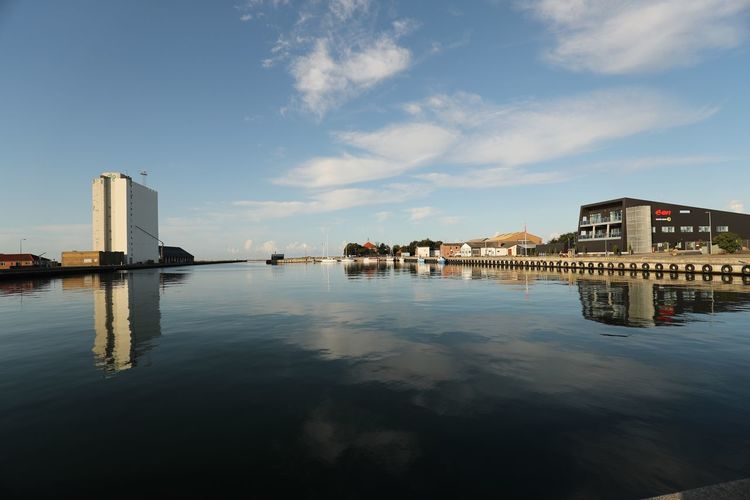 Architecture Built Structure Building Exterior Water Sky Reflection Outdoors Waterfront Cloud - Sky Day No People Nature