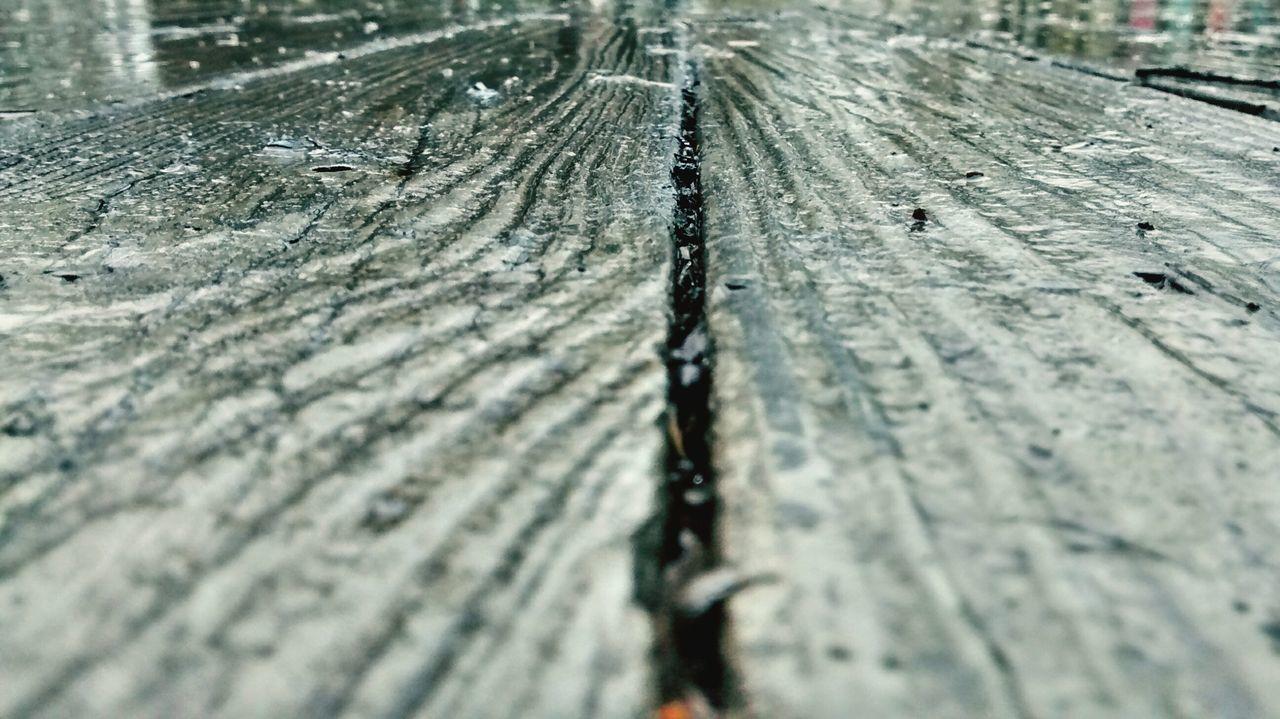Surface Level Of Wet Wood
