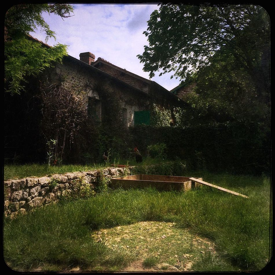 Backyard EyeEm Best Shots Artistic Monet House Farmhouse Hipstamatic Countryside France