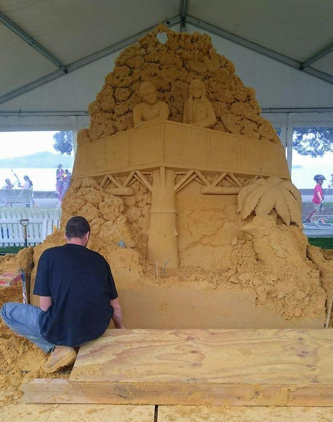 Mount Tamborine Rain Forest Sand Sculpture @