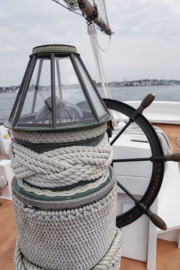 Sailing Water Rope Boat Mode Of Transport Nautical Vessel Sea Transportation Sailboat Outdoors Day Sky Nature No People Sailing Ship Boat Deck Harbor Helm Moored Yacht