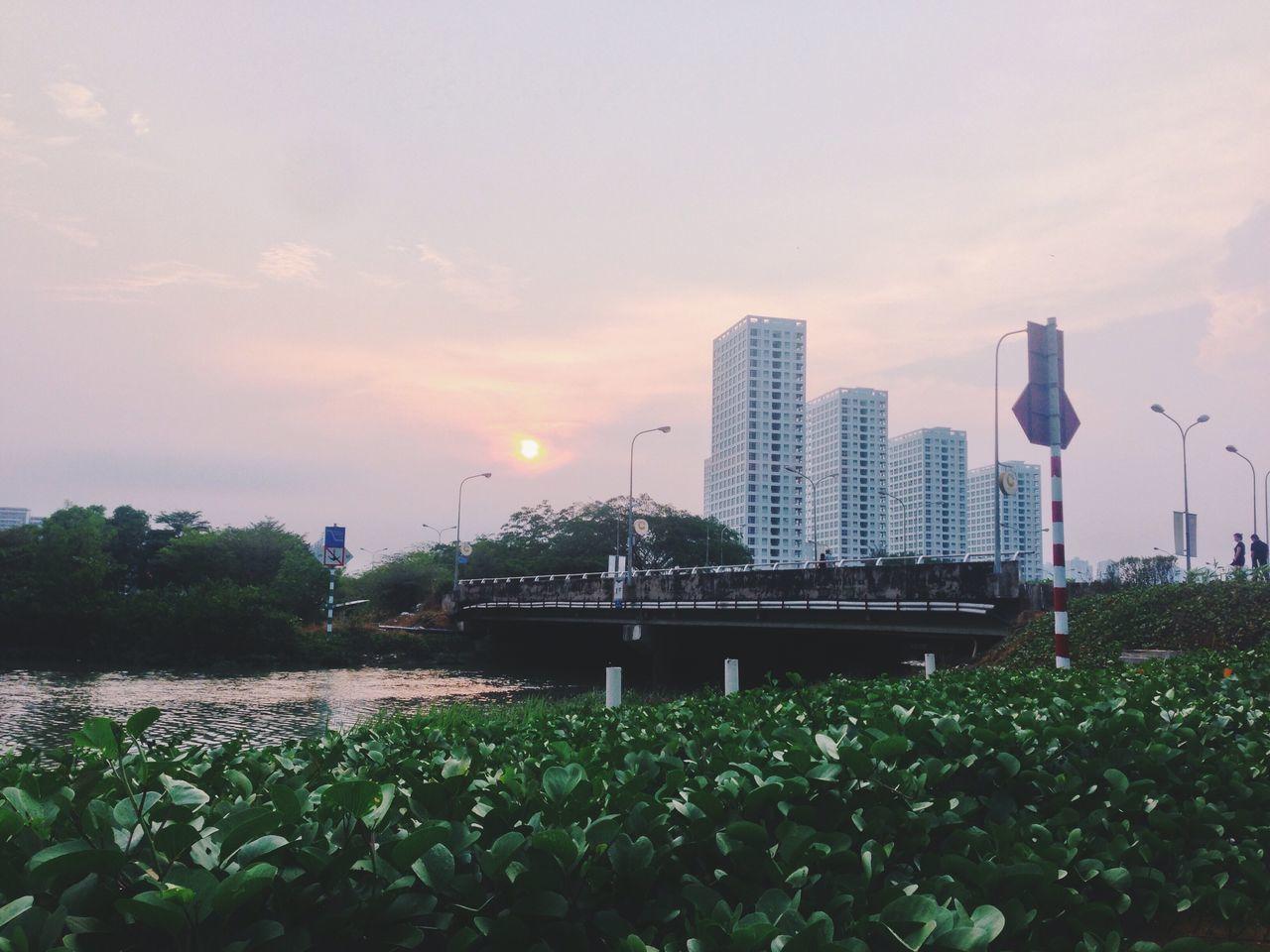 Beautiful stock photos of sunrise, Architecture, Bridge, Building Exterior, City