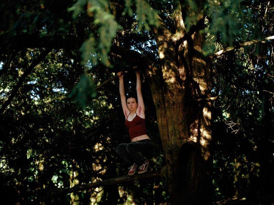 Alice, 16, Suffolk 2016 Tree One Person Young Adult Young Women Hanging Nature Outdoors Shootfilm Youth Culture Teenager Filmisnotdead Suffolk, United Kingdom Kodak portra