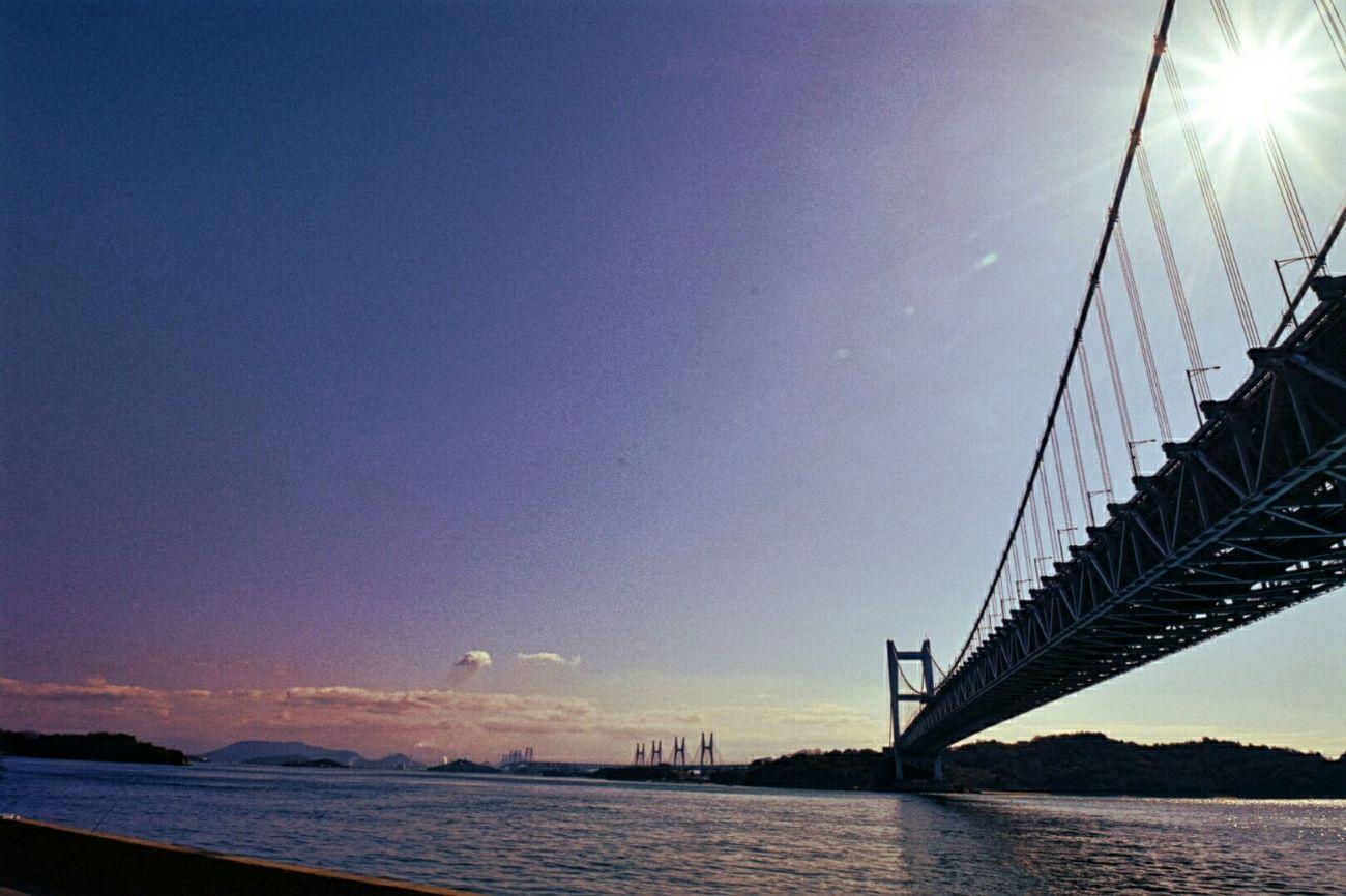 Okayama Japan 岡山 日本 瀬戸大橋