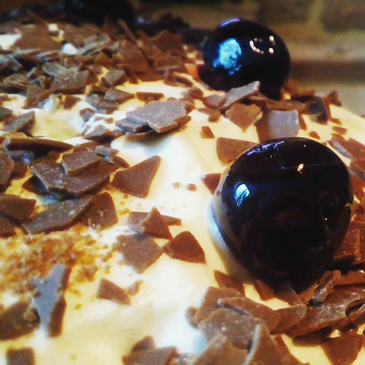 Black Forest Gateaux Cream Cake Chocolate Delicious Gluttony Rich
