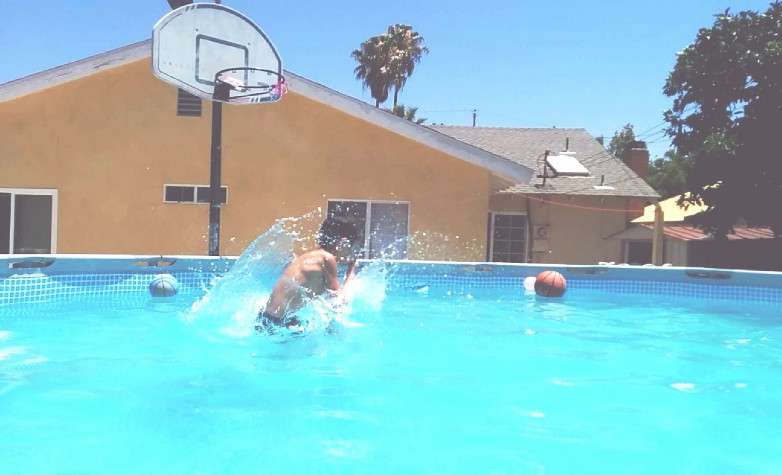 A good pool day Taking Photos